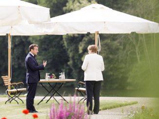 Macron y Merkel se unen a EEUU en el cambio digital y climático