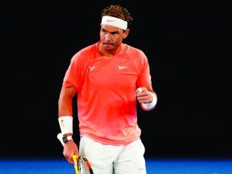 Nadal le gana a Fognini y se mete en los cuartos del Open de Australia
