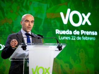 VOX quiere el 8 de marzo como Día Nacional de víctimas por coronavirus