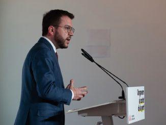 Fracasa la investidura de Pere Aragonès como presidente