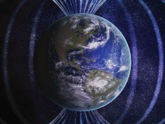 Así se ven los campos magnéticos de un agujero negro