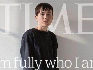 Elliot Page en su primera portada como transgénero para la revista Time