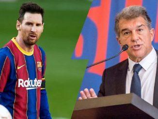 Laporta revela datos de la situación de Messi y Jordi Cruyff