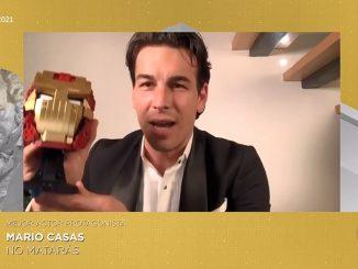 Mario Casas gana el Premio Goya 2021 a Mejor Actor