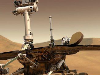 Nave en Marte
