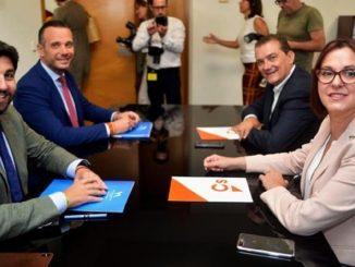 Moción de Censura en Murcia: PSOE y Cs se unen contra el PP