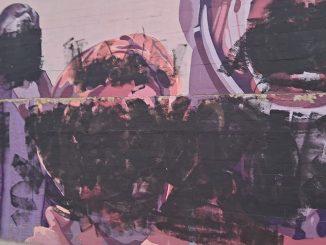 El mural feminista de Madrid, manchado con pintura negra