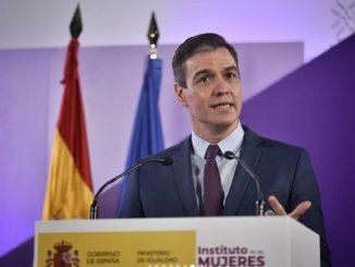 Pedro Sánchez: «La bandera feminista es la de la unidad»