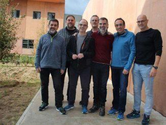 Los presos del «procés» regresan a la cárcel