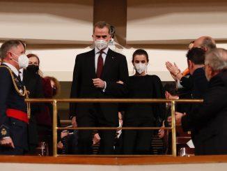 Los Reyes presiden el acto de Estado del 11-M en Madrid