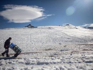 Un fuerte episodio invernal con nevadas se acerca a España