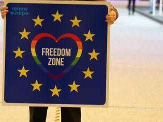 Unión Europea: declarada «zona de libertad para los LGTBI»