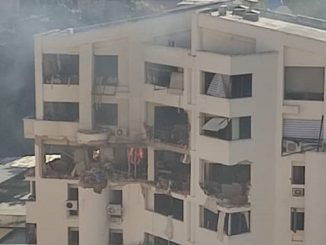 Fuerte explosión en un edificio de la ciudad venezolana de Valencia