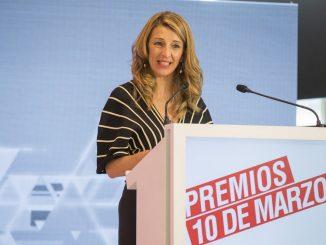 Yolanda Díaz : vicepresidenta tercera y ministra de Trabajo