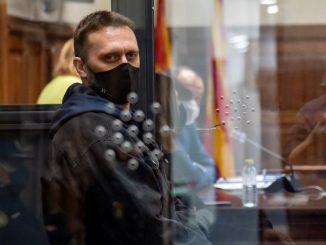 Norbert Feher, 'Ígor el Ruso', en el juicio por el triple asesinato cometido en Andorra, Teruel.