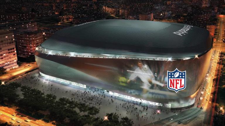 Florentino Pérez quiere a la NFL