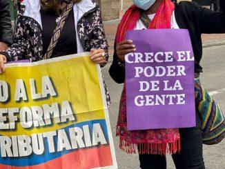 Paro nacional en Colombia contra la reforma tributaria