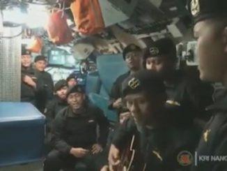 Indonesia, conmoción por el video de los marineros del submarino