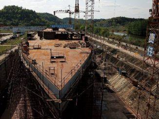 China hace replica del titanic