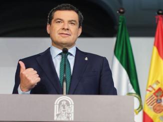 El anuncio de José María Moreno, presidente de la Comunidad de Andalucía
