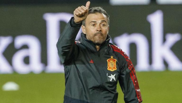 Luis Enrique Lista Eurocopa