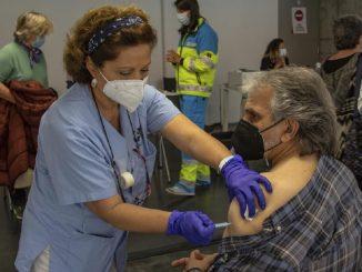 La autocita para la vacuna en Madrid: grupo entre 57 y 67 años