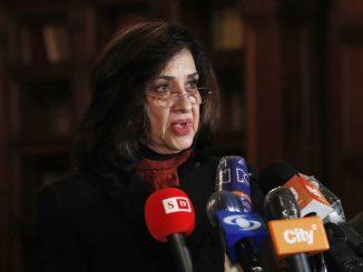 La canciller de Colombia presenta su renuncia en medio de la crisis social