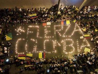 Protestas en Colombia dejan más de 800 heridos y 20 muertos