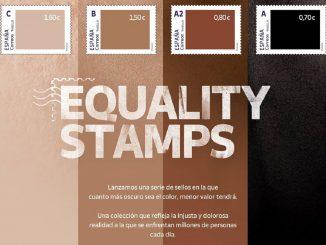 Equality Stamps: la nueva campaña contra el racismo de Correos
