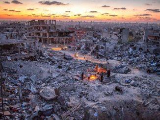 Alto el fuego tras once días de bombardeos en la Franja de Gaza