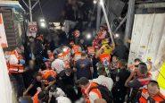Israel, estampida en festival religioso multitudinario deja 44 muertos
