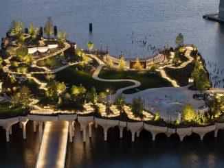 El nuevo parque flotante de Nueva York: Little Island