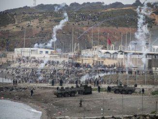 El Ejército se moviliza en Ceuta por la entrada de migrantes de Marruecos