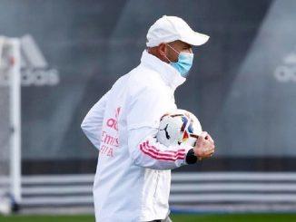 Zidane: con planes de abandonar el Real Madrid