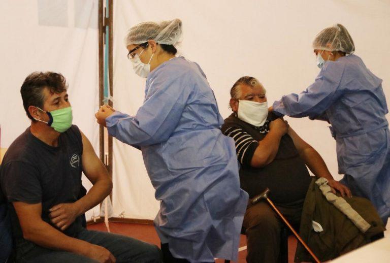 Vacunación para los mayores de 50 años