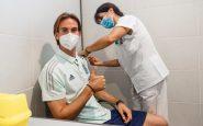 La Selección Española de Fútbol se vacuna