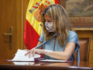 Trabajo Yolanda Díaz