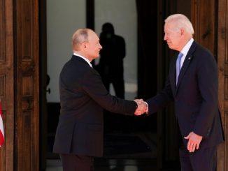 La primera reunión entre Joe Biden y Vladimir Putin en Ginebra