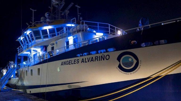 buque Ángeles Alvariño.
