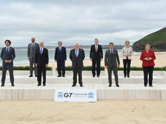 Países que participarán en las cumbres del G-7 donarán mil millones de vacunas