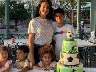 Georgina Rodríguez alquila un parque de atracciones para el cumpleaños de su hijo