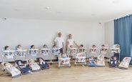 Gracias a la gestación subrogada, pareja tiene 20 hijos en un año