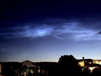 Las nubes noctilucentes, vistas en España: qué son