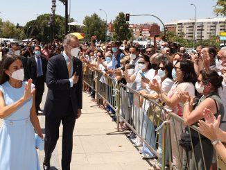 El rey Felipe VI recibe la Medalla de Honor de Andalucía