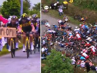 Aficionado que provocó accidente en el Tour de Francia podría enfrentarse a la cárcel