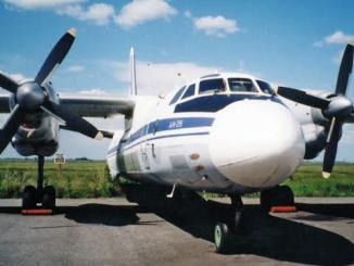 Desapareció avión ruso