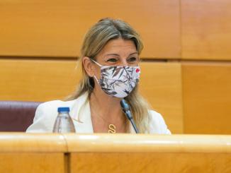 ERTE Yolanda Díaz