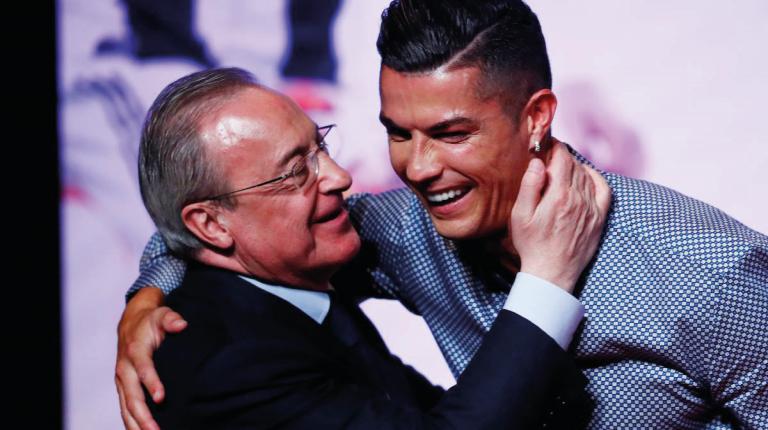 Cristiano Ronaldo Florentino Pérez