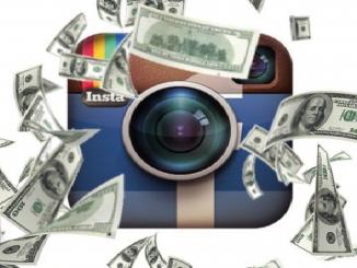 Dinero por publicidad en Instagram