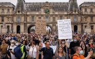 Francia Protestas Vacunación